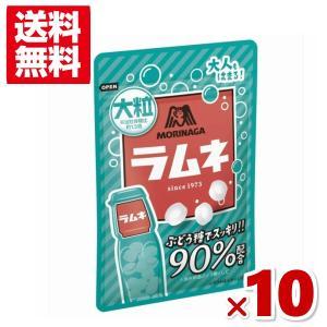(メール便全国送料無料)森永 41g大粒ラムネ 10入|takaoka