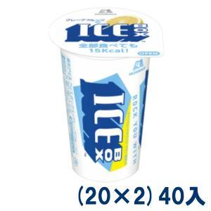 森永製菓 アイスボックスグレープフルーツ (20×2)40入(冷凍) 本州一部送料無料|takaoka