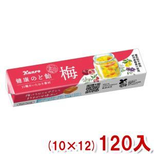 (本州一部送料無料) カンロ 健康梅のど飴ST (10×12)120入 (Y10)