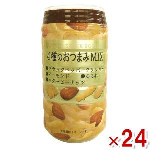 龍屋物産 4種のおつまみMIX 24入(自販機用) 本州一部送料無料|takaoka