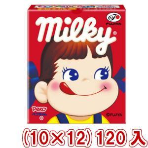 不二家 7粒ミルキー箱(10×12)120入 (Y10) 本州一部送料無料|takaoka