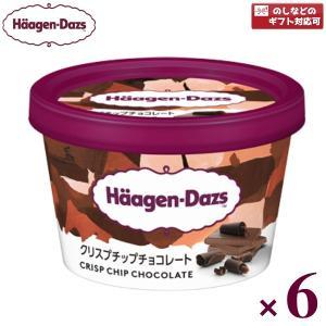 ハーゲンダッツ ミニカップ クリスプチップチョコレート 6入(冷凍)|takaoka