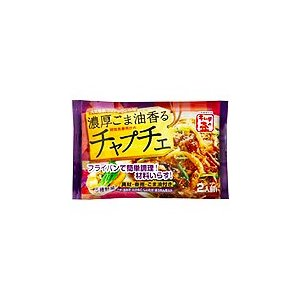 【徳山物産】 濃厚ごま油香るチャプチェ 2人前125g×10袋 takaomarket