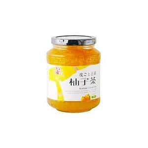 【徳山物産】 皮ごと正直柚子茶 ビン580g×15本【送料無料(一部地域除く)】 takaomarket