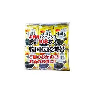 徳山物産 韓国伝統海苔 12袋入×20個 【送料無料(一部地域除く)】 takaomarket