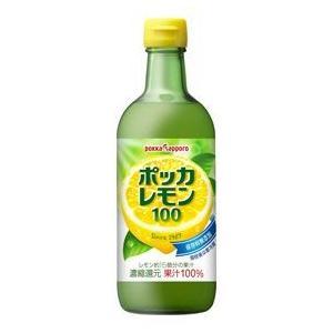 ポッカサッポロ ポッカレモン100 450ml...の関連商品4