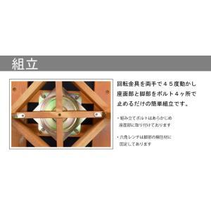 アウトレット 肘付きダイニングチェア  回転チェア 椅子 2脚入   morisu-360 ミドルブラウン ライトブラウン アームチェア 木製 コンパクトタイプ 161|takara21|06