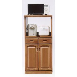 レンジ台 幅60cm ナチュラル色 完成品 hid-239 キッチン 家電 収納 木製 日本製 国産|takara21