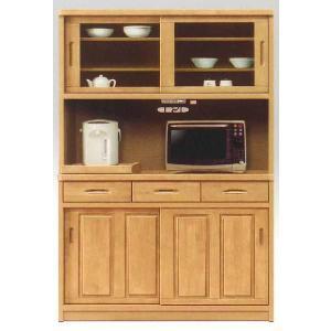 食器棚 引き戸 完成品 レンジ台 120 ランタナ  ran-239  キッチン収納   オープンボード  レンジボード   家電収納     カップボード|takara21
