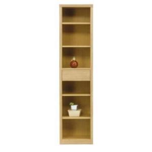 フリーボード 本棚 幅45 完成品 ハイタイプ ナチュラル色 ブラウン色 win-239 木製 引き出し ラック オープンラック シェルフ 書棚 本棚|takara21