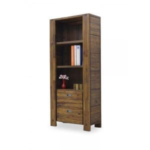 2人で搬入 75フリーボード キャビネット 書棚 hado アンティーク調 木製 モダン おしゃれ アジアン 001-358|takara21