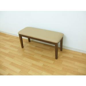 キズ物 アウトレット ダイニングベンチ ミドルブラウン 椅子 いす 玄関椅子 在庫処分 |takara21