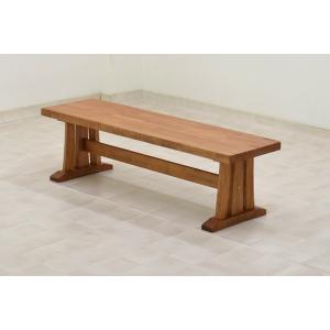 アウトレット 製造中止品 ダイニングベンチ kuram-130be-370na ナチュラル うづくり ベンチ 和風 木製 玄関 待合 ¥¥¥|takara21