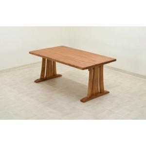 アウトレット 製造中止品 ダイニングテーブル kuram150na-370 ナチュラル うづくり テーブル 和風 木製 シンプル モダン 単品 ss|takara21