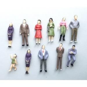 町の中人々 10体 1:50スケール ジオラマ 人形 人間 ウィディング テラリウムフィギュア ミニフィギュア 苔テラリウム 箱庭 イベント テラリウムキット 箱庭