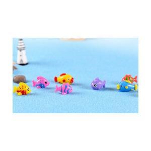 魚4種色 お任せ動物 テラリウムフィギュア ミニ...の商品画像