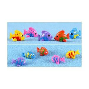 魚4種色 お任せ動物 テラリウムフィギュア ミ...の詳細画像3