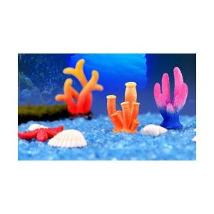 サンゴ 海 さかな アクアテラリウム テラリウム 水槽 テラリウムフィギュア ミニフィギュア テラリウムキット 箱庭|takara77