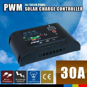 ソーラーパネル チャージコントローラー 30A PWM