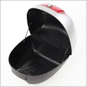 リアボックス トップケース バイク シルバー 銀 28L 簡単装着|takarabune|04