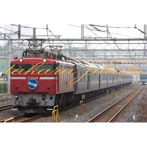 鉄道写真EF81寝台特急北斗星2L版サイズ商品コード3−0007−2L