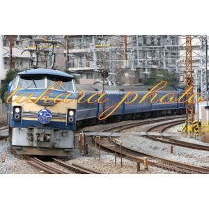 鉄道写真EF66寝台特急富士はやぶさ2L版サイズ商品コード3−0021−2L