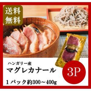 送料無料 ハンガリー産 マグレカナール 3パック 300〜400g 鴨 鴨肉 鴨胸肉 カモ|takarajima9666