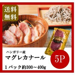 送料無料 ハンガリー産 マグレカナール 5パック 300〜400g 鴨 鴨肉 鴨胸肉 カモ|takarajima9666