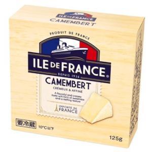 イル・ド・フランス カマンベール 125g チーズ おつまみ 白カビ キャンプ|takarajima9666