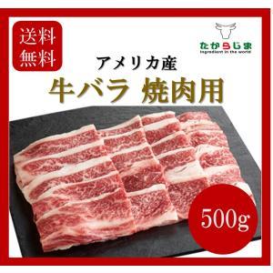 送料無料 牛バラ 500g アメリカ産 カルビ 牛カルビ 牛肉 牛 肉 焼肉 BBQ キャンプ バーベキュー ホームパーティ|takarajima9666