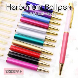 ハーバリウムペン 12本セット 【メール便送料無料】ハーバリウム ハーバリューム ハンドメイドペン|takaranail