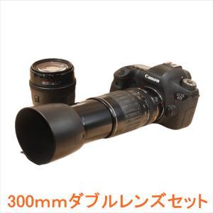 キヤノン Canon EOS 6D 標準&超望遠300mm ダブルレンズセット Wi-Fiでスマホへ...