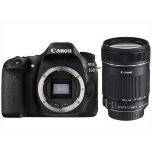 キヤノン Canon EOS 80D EF-S 18-135mm IS 手振れ補正高倍率レンズセット...