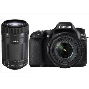 キヤノン Canon EOS 80D EF-S 18-135mm EF-S 55-250mm IS ...