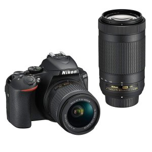 一眼レフカメラ Nikon ニコン D5600 ブラック ダブルズームキット