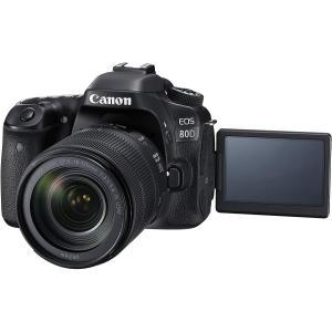 キヤノン Canon デジタル一眼レフカメラ EOS 80D レンズキット EF-S 18-135m...