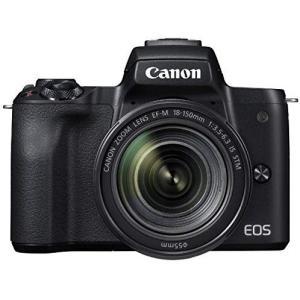 キヤノン Canon EOS Kiss M EF-M18-150 IS STM レンズキット ブラッ...