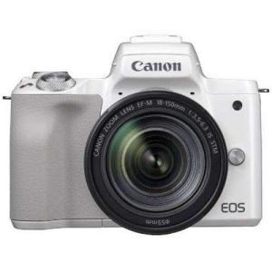 キヤノン EOS Kiss M EF-M18-150 IS STM レンズキット ホワイト 新品SD...
