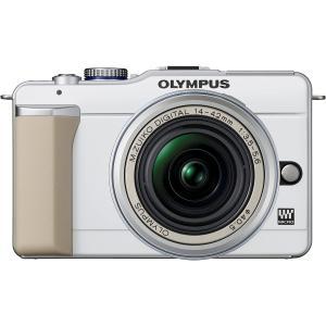 オリンパス OLYMPUS E-PL1s レンズキット ミラーレス一眼 レッド