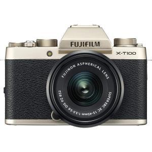 富士フイルム FUJIFILM X-T100 15-45mm レンズキット ミラーレス 一眼 カメラ...