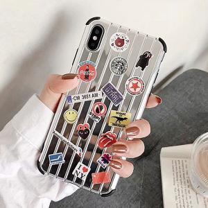 iPhone XR Xs Max Xs X 8 7 iPhone 8 7Plus シルバー トラベル...