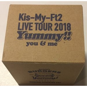 ・ Kis-My-FT2 (キスマイ)・・【スタッキングカップ】・・・・5大ドームツアー 2018「...