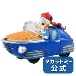 ミッキーマウスとロードレーサーズ トミカ MRR-08 ダック・バルケッタ ドナルドダック