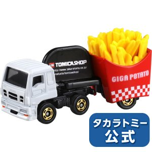 トミカショップオリジナル いすゞ ギガフライドポテトカートミカ ミニカー タカラトミー takaratomymall