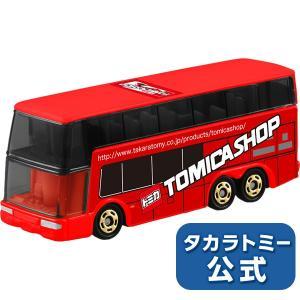 トミカショップオリジナル 三菱ふそう エアロキング 2階建てバス takaratomymall