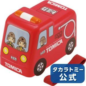 トミカ 立体トミカ弁当箱(消防車)|takaratomymall