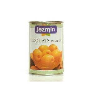 ジャスミン ルカット(びわ)425g/1缶 フルーツ缶詰 スペイン産