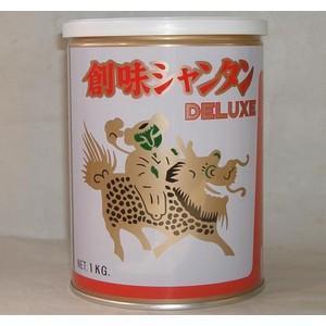 創味食品 創味シャンタンdx デラックス DX1kg 【高級中華スープの素】業務用食材日本製国産/缶詰【送料無料・代引不可】