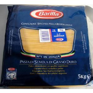 バリラ スパゲッティーニ【no.5】5kg 【1.7mm】イタリア製正規輸入品業務用食