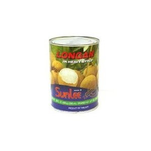 サンリー 糖水龍眼 リュウガン565g/フルーツ缶詰タイ料理